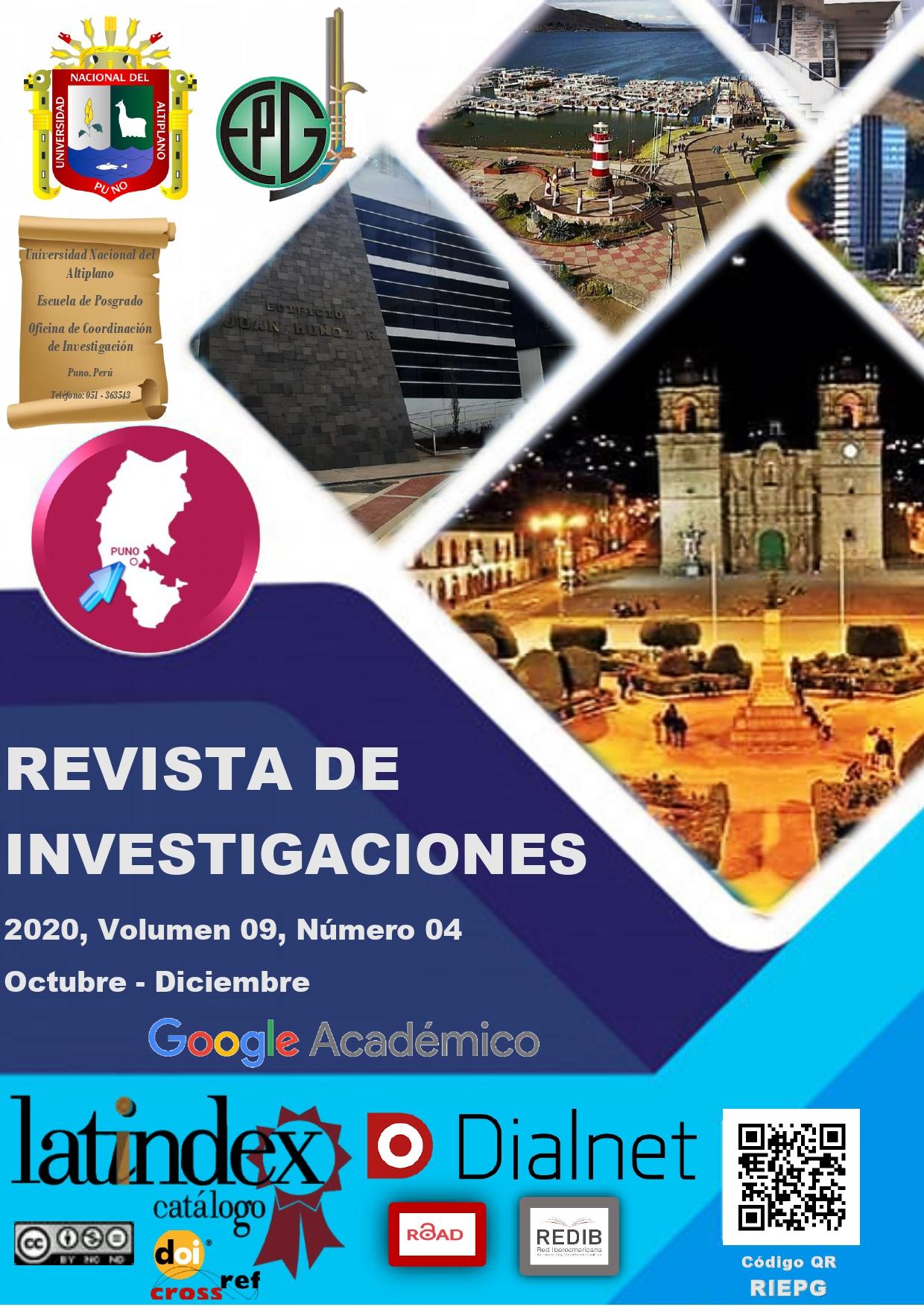 REVISTA DE INVESTIGACIONES (PUNO)