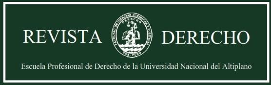 Revista de Derecho de la Universidad Nacional del Altiplano de Puno